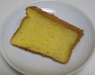 米粉のバニラシフォン