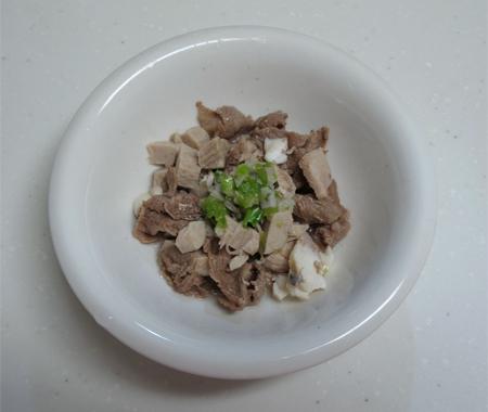 マグロ・牛肉ごはん